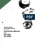 RC-5MSIH Manual (English)