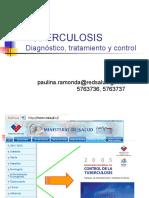 Tuberculosis - Diagnostico Tratamiento y Control - Cl