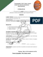 Torneo Basquetbol 2014