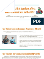 natives and tourism