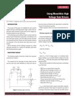 Infineon Using Monolithci Voltage Gate Drivers UM v01_00 En