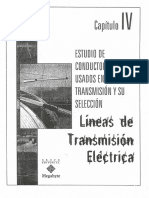 Lineas de Transmision Electrica (Capitulo IV)