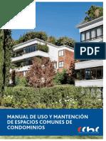 Manual de Uso y Mantencion de Espacios Comunes de Condominios CChC