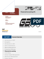 Introduction to SAP ERP Using GBI Slides FI