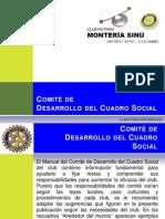 Comite de Desarrollo Cuadro Social