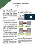 Hybrid Functional Verification Methodology for VideoAudio SoC