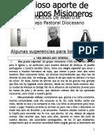 Grupos Misioneros Cartilla Párrocos