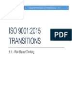 Iso9001-2015 Risk Based Thinking 110115