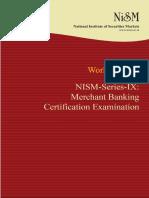 NISM Series IX Merchant Banking