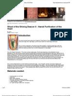 Haniel Purification of the Heart