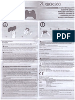Control Inalámbrico de XBOX 360 Manual Español