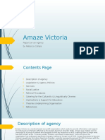 amaze victoria report