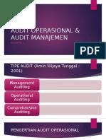 Audit Operasional & Audit Manajemen