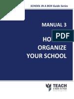 Manual3-HowToOrganizeYourSchool