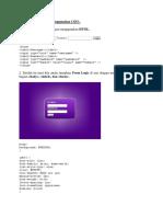 Membuat Form Login Menggunakan CSS3