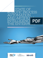 State of RPA and AI in the Enterprise