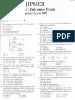 JIPMER MBBS 2011.pdf