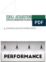 Winkelman Skill Acquisition Rish and Out