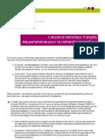 PNF Partenaires Recherche Scientifique
