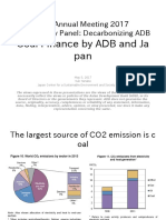 Coal Finance by ADB and Japan