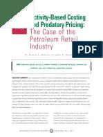 Maq Spring03 Activitybasedcosting and Predatorypricing-PDF