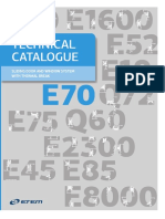 Technical Catalogue E70 857