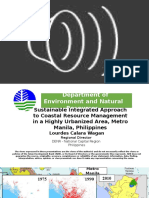 Sustainable Integrated Approach to Coastal Resource Management in a Highly Urbanized Area, Metro Manila, Philippines