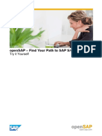 OpenSAP s4h5 Week 4 System Access