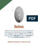 History+Theory # 6 BAUHAUS