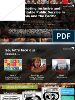 Promoting Inclusive and Accountable Public Service in Asia and the Pacific