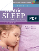 Clinical Guide to Pediatric Sleep, A Diagnosis and Management of Sleep Problems 3rd