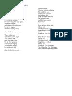 Matt Redman - 10,000 Reasons (Bless The Lord) Lyrics.docx