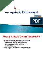 K. Sasi Malaysia Retirement