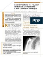 Vertical Humeral Osteotomy for Stem Revision in Total Shoulder Arthroplasty