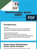 Perhitungan Dosis