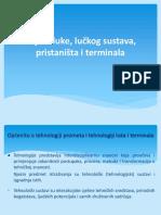 Planiranje Luka i Terminala-nastava II