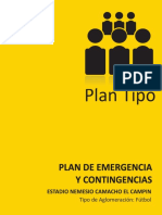 Plan Tipo Estadio El Campin