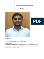 Profile and Keywords