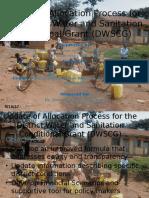 Developing criteria for resource allocation