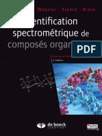 Identification Spectrométrique de Composés Organique--Silverstein