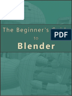 Beginners Guide to Blender