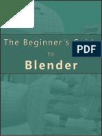 Beginners Guide to Blender