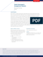 Orthophoto Coverage & Data Management System