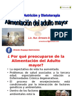 ALIMENTACIÓN DEL ADULTO MAYOR