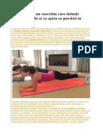 Scandurica - Un Exercitiu Care Intinde Fiecare Muschi Si Va Ajuta Sa Pierdeti in Greutate