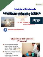 ALIMENTACIÓN EN EL EMBARAZO Y LACTANCIA