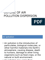 Outline of Air Pollution Dispersion