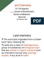 Lipid Chemistry PP