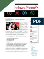 Windows Phone 7 y 8_ Sincronizar Contactos y Calendario de Gmail a Windows Phone