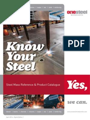 OneSteel Metalcentre KYS Catalogue April 14 | Structural Steel